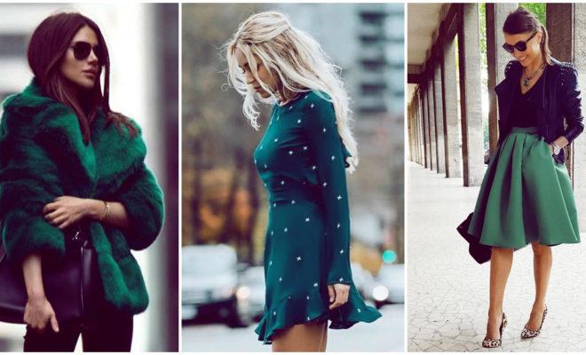 Prendas verdes: cómo combinarlas para lucir más sexy