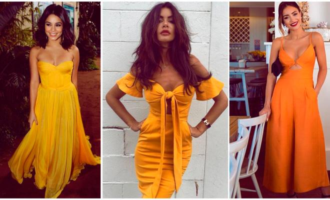 Vestidos amarillos, la mejor opción para la primavera