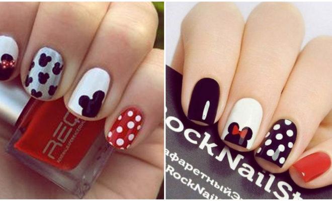 Lindos diseños de Minnie Mouse, ¡la ratona favorita en tus uñas!