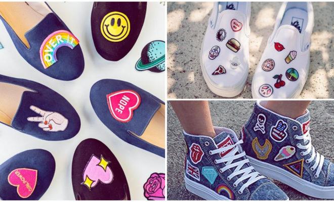 Hermosos zapatos con parches que vas a amar