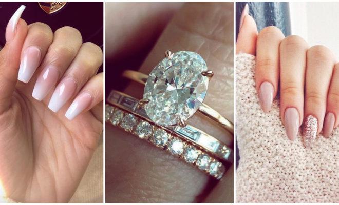 Manicuras con las que lucirás al máximo tu anillo de compromiso