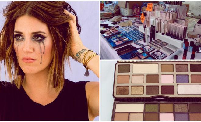 ¿Usas maquillaje pirata? Conoce los daños que te pueden causar