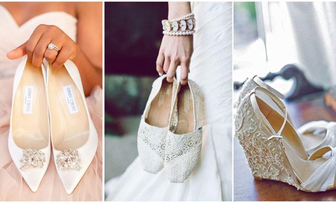 Tacones y zapatos bajitos solo para las novias más sexys :)