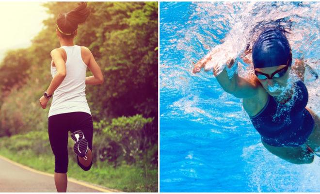 Nadar es más benéfico que caminar, ¿será?