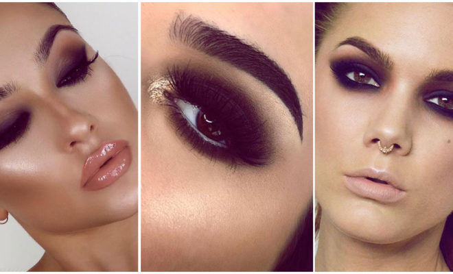 Tips para maquillarte con sombras negras sin morir en el intento