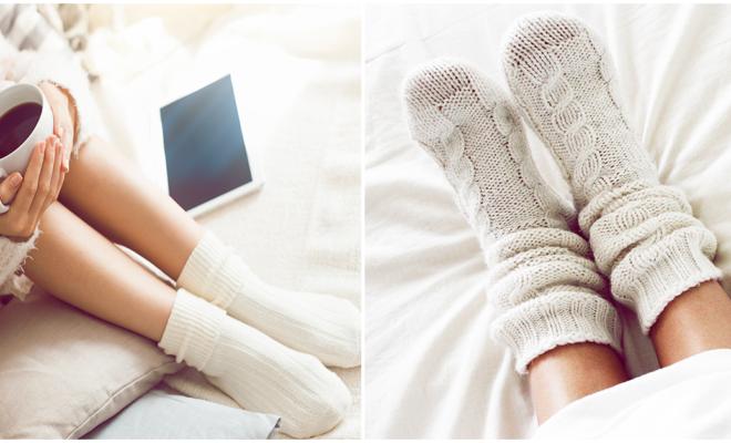 Dormir con calcetines, ¿es bueno o malo para tu salud?