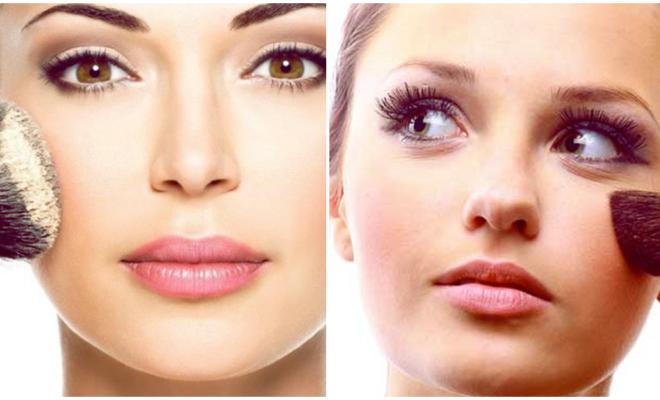 Usa polvo antes del maquillaje, ¡y haz magia con tu makeup!