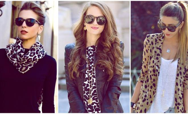 El animal print es una de las mejores opciones para vestir