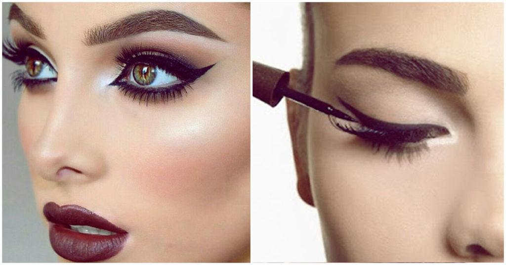 make#inspiraçao#amo!   Maquiagem delineador, Maquilhagem