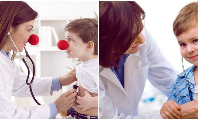 ¿Deberías estar presente en cada examen médico de tus pequeños?
