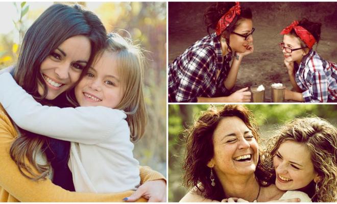 Lo más gratificante de ser mamá es que el vínculo entre mi hija y yo es inquebrantable