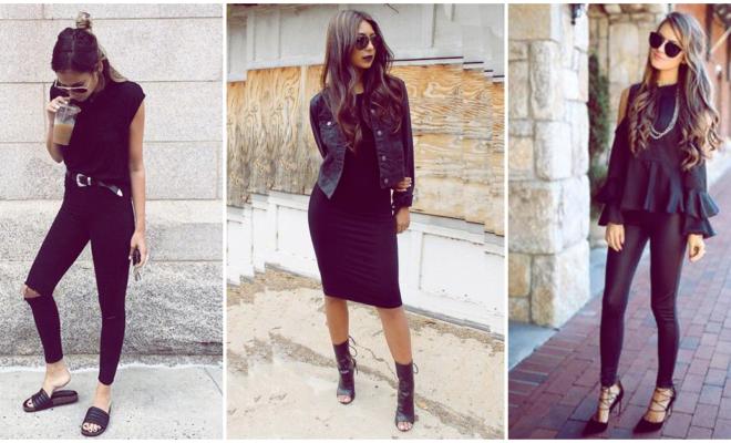 Placeres que entenderás si te gusta vestir de negro tanto como a mí
