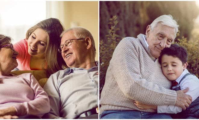 Razones por las que los abuelos son tan importantes