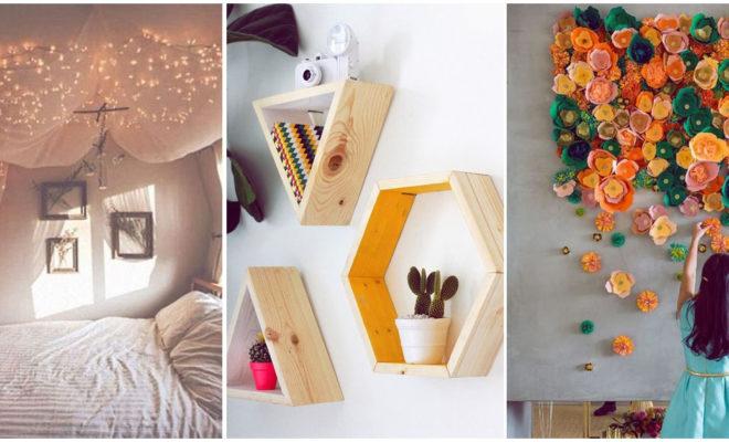 Ideas super facilitas para decorar tu cuarto y hacerlo más mono