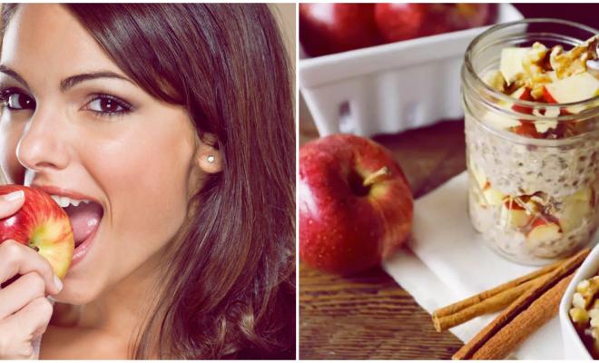 Avena con manzana, ésta es la razón por la que deberías incluirlas en tu dieta