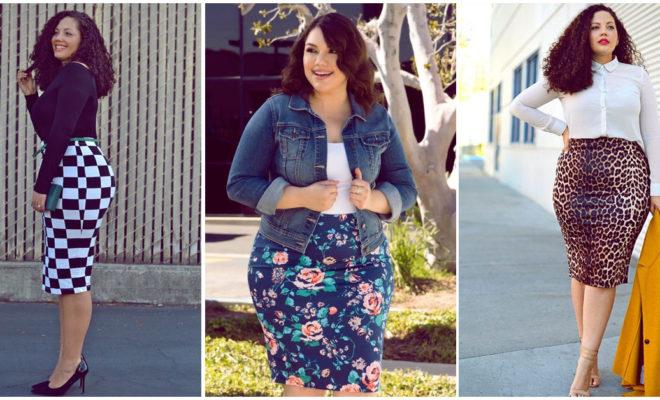 Faldas curvy que puedes usar para estar a la moda este 2018