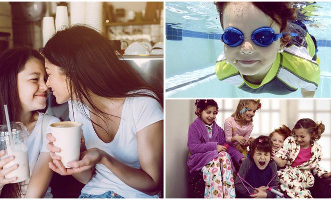 Cómo pasar las vacaciones con niños pequeños en casa