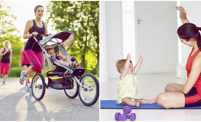Cómo hacer ejercicio cuando hay un bebé en casa