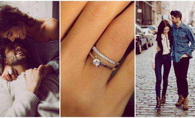 Antes de darte el anillo, así puede probarte su amor