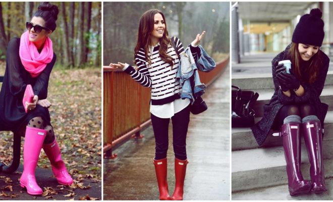 Cosas que nunca hay que hacer con las botas de lluvia