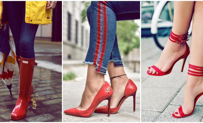 Los mejores zapatos rojos para esta temporada
