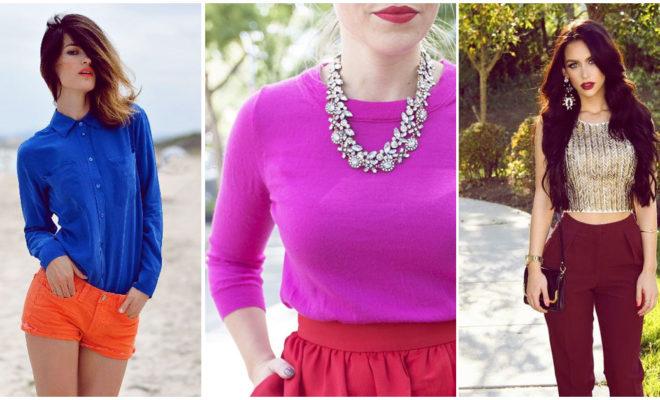 Combinar labial y blusa: ¿cute o anticuado?
