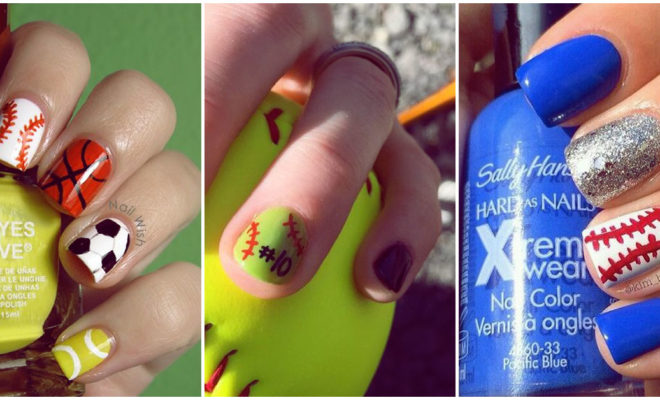 Sporty nails, diseño de uñas para chicas fit