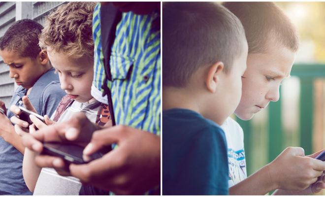 La ansiedad en los niños es causada por los dispositivos móviles