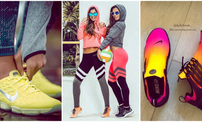 Tenis coloridos para ir al gimnasio con estilo