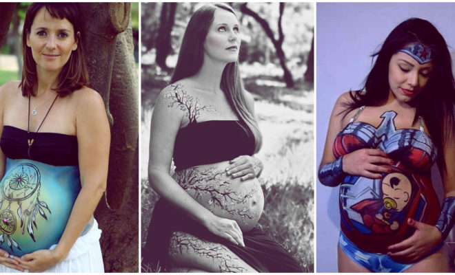 Bodypainting en embarazadas: lleva el arte en tu vientre