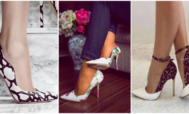 Stilettos con prints super lindos para darle más estilo a tus outfits