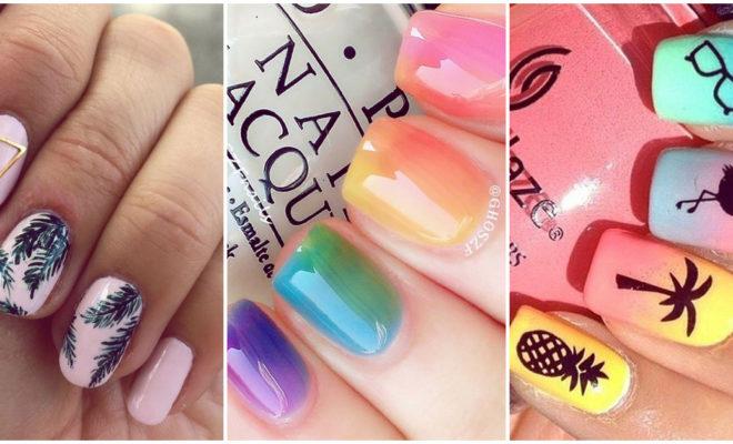 Diseños de uñas frescos y divertidos para el verano