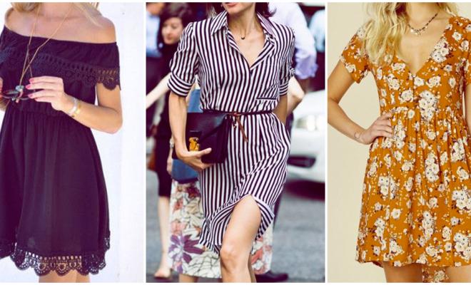 Vestidos de verano para las chicas de estilo creativo