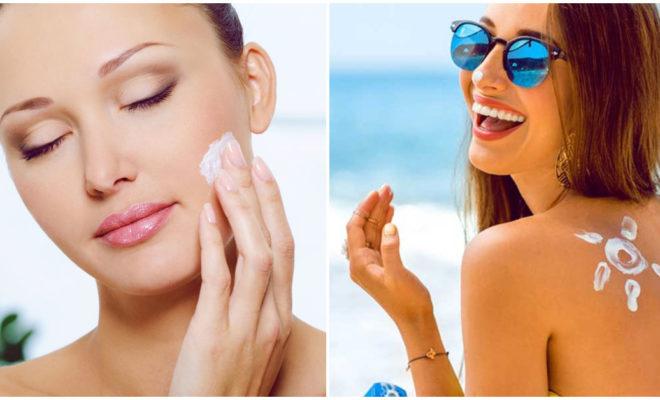 Elige el protector solar adecuado para el rostro