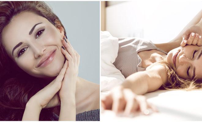 Esta es la mejor posición para dormir sin que tu piel se arrugue