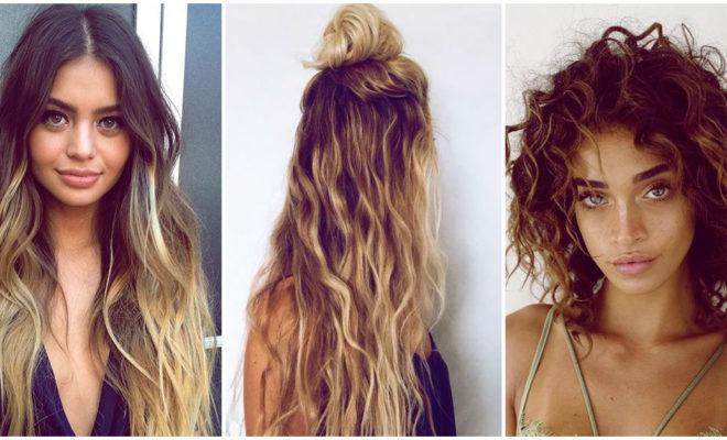 ¿Quieres ondas playeras en tu cabello?, hazlas así…
