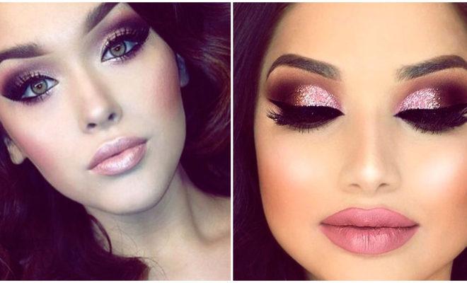 Make up en tonos rosados para ir de fiesta