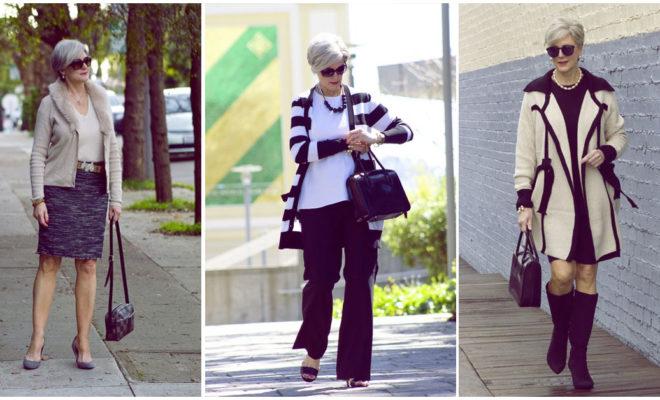 Cómo vestir con estilo en el trabajo de los cincuenta en adelante
