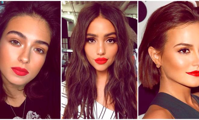Los mejores tonos de rojo para tus labios en esta temporada