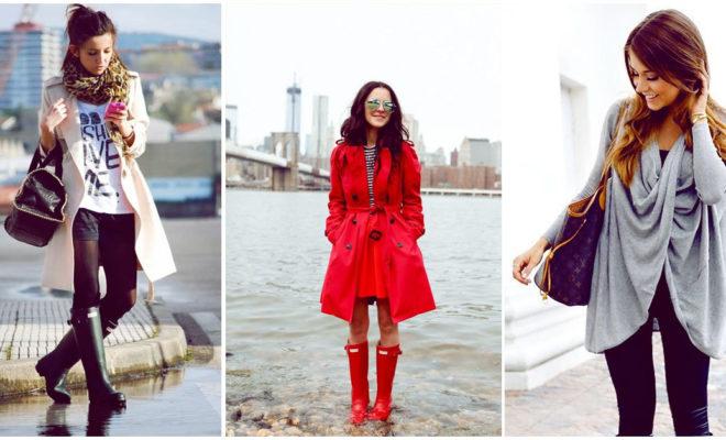 Escoge el outfit perfecto para un día lluvioso