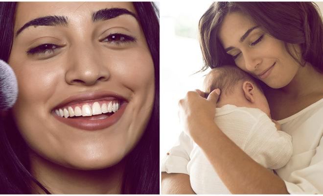 Tener un bebé no es pretexto para dejar tu rutina de makeup