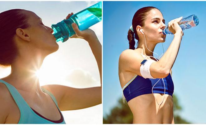 Beneficios de tomar agua durante el entrenamiento