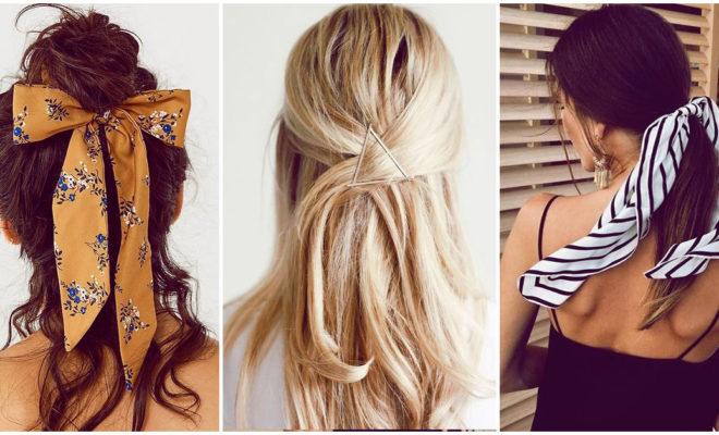 Accesorios para el cabello que debes utilizar sí o sí