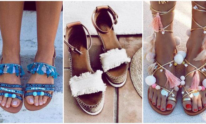 Consejos para cuidar tus sandalias en la playa