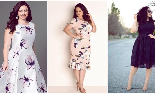 Vestidos semiformales que se llevan bien con tus curvas