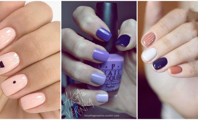 Efecto ombré y otros diseños de uñas para el verano