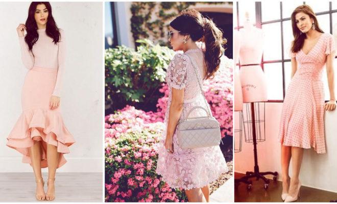 7 razones por las que deberías tener sí o sí un vestido rosa a tus 30