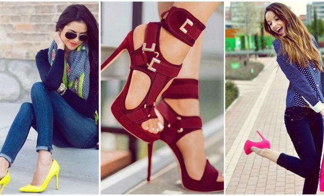 Zapatos de color, el toque que te hará ver sexy y original