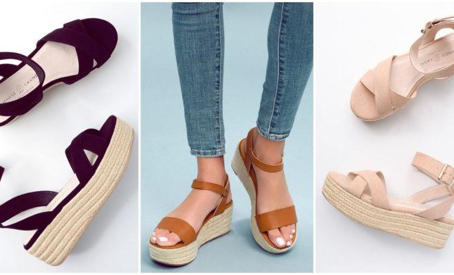 Sandalias con doble plataforma: así puedes combinarlas