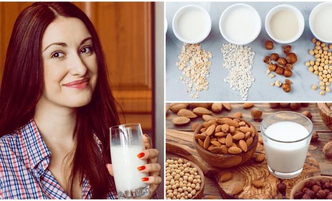 Beneficios de incluir leches vegetales en tu alimentación